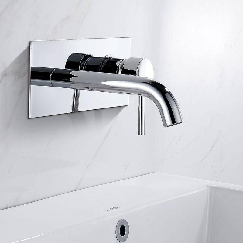 Grifo de lavabo empotrado pared ca a duchas empotradas - Grifos de pared ...