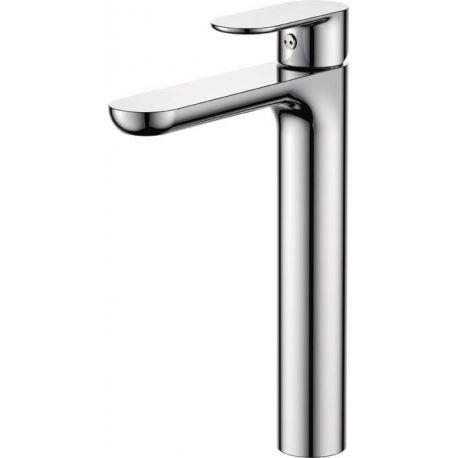 Grifo  lavabo alto pica cromo  monomando serie Turia
