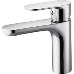 Grifo lavabo cromo monomando  serie Turia