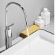 Grifo para pica lavabo monomando alto diseño gota giratorio