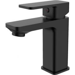 Grifo de lavabo monomando negro mate serie Skara