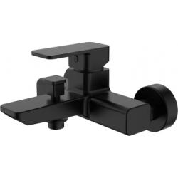 Grifo de bañera monomando negro mate serie Skara