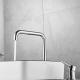 Grifo lavabo monomando alto pica cromado giratorio