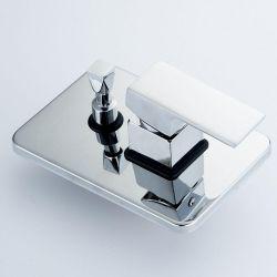 Empotrado monomando 2-3 vías mezclador agua fría y caliente latón